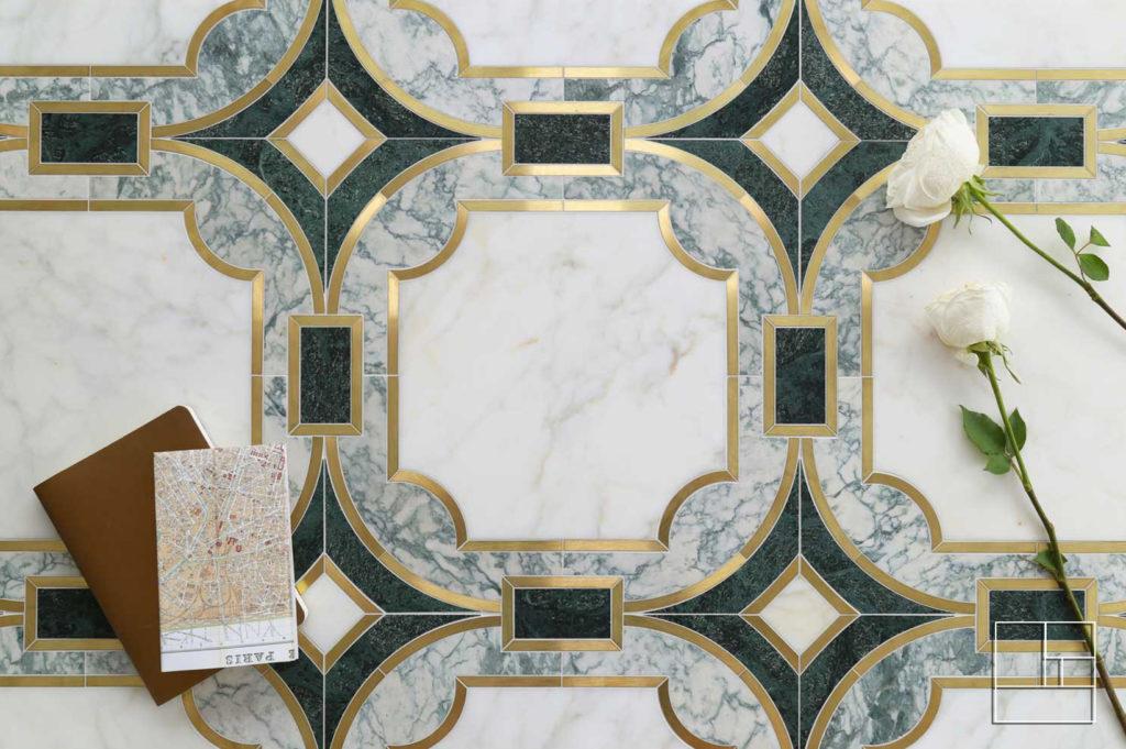 Collection Arabesque 1.1 : Mosaïque de revêtement murs et sols
