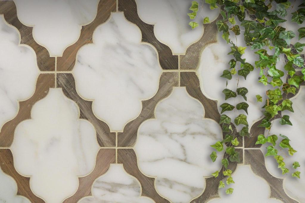 Collection Arabesque 3 : Mosaïque de revêtement murs et sols