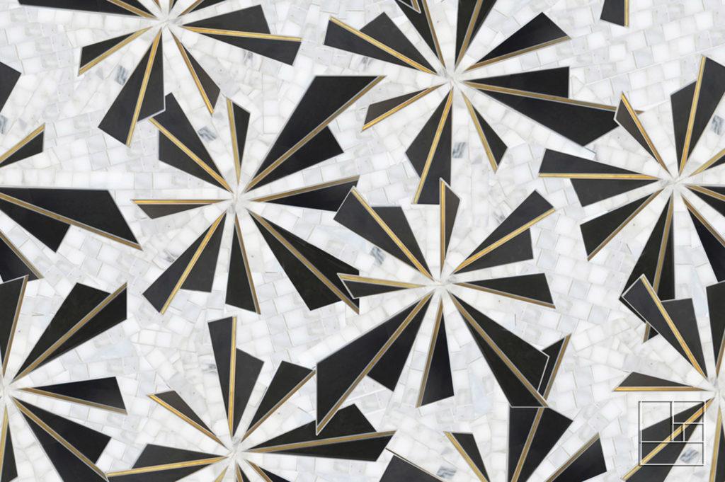 Collection Nature 2 : Mosaïque de revêtement haut de gamme